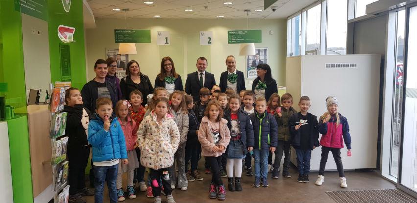 Sberbank BH obilježio Dan štednje sa mališanima