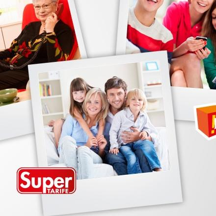Super kombinacija uz nove SuperFamily tarife