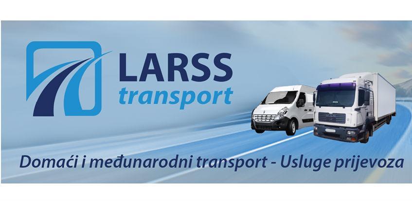 LARSS transport: Novi samostalni autoprijevoznik na bh. tržištu