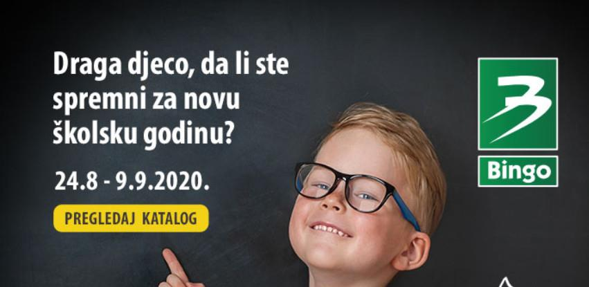 Sve za početak nove školske godine potražite u Bingo katalogu