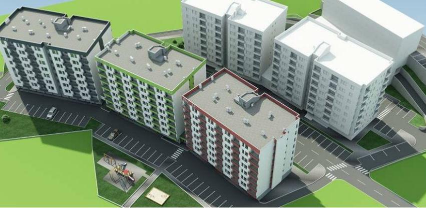Počela prodaja stanova u Naselju Oaza - lamela A2 u Tuzli