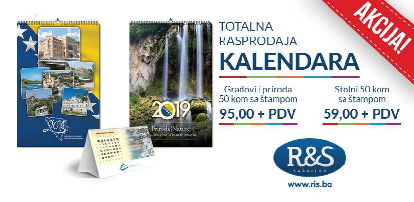 Totalna rasprodaja kalendara!