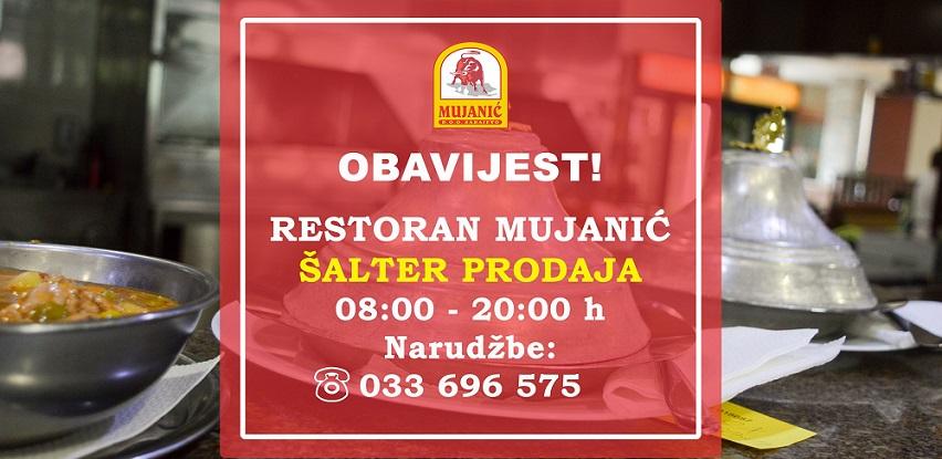 Vaša omiljena jela restorana Mujanić preuzmite putem