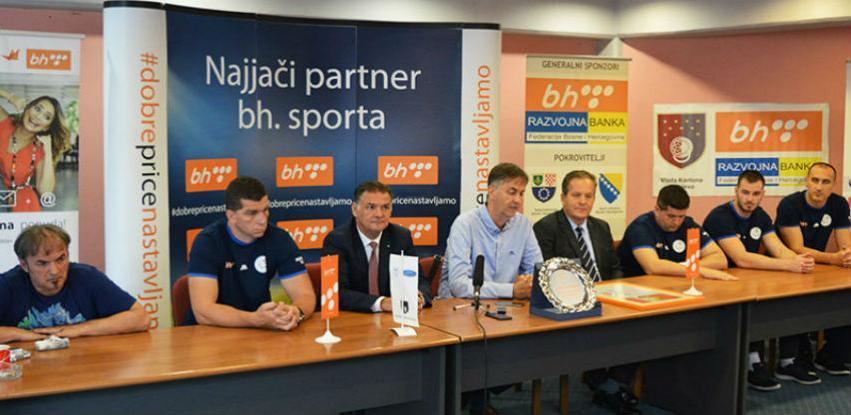 BH Telecom donirao 45.000 KM Savezu sjedeće odbojke Bosne i Hercegovine