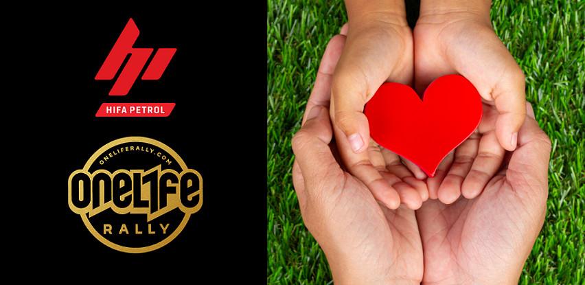 OneLife Rally i Hifa Petrol doniraju sredstva udruženju