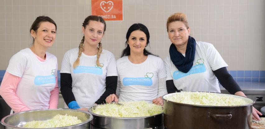 Uz podršku kupaca dm će donirati 36.918 KM za spremanje prazničnih obroka