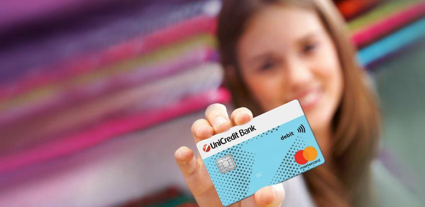 Sve veći interes za izdavanje Dopunjive Mastercard UniCredit Bank kartice