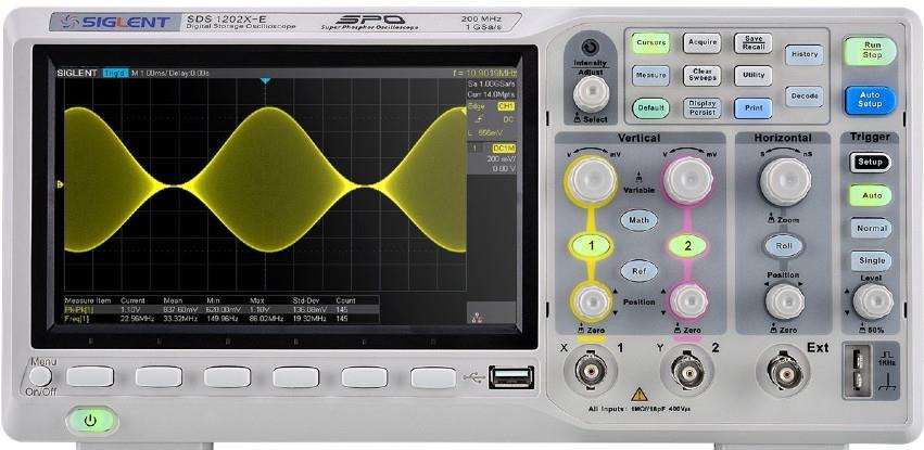 Digitalni osciloskop 200 MHz. Samo na metroteh.ba