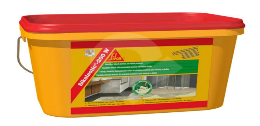 Hidroizolacijski elastični premaz za unutarnju primjenu - Sikalastic®-200 W