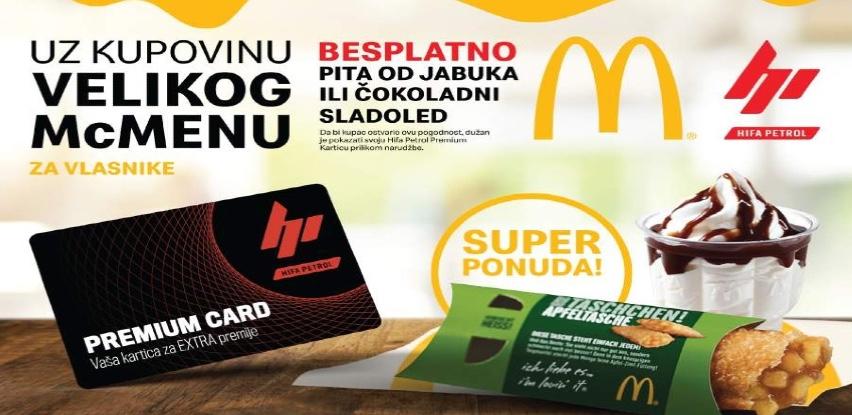 Hifa Petrol i McDonald's daruju!