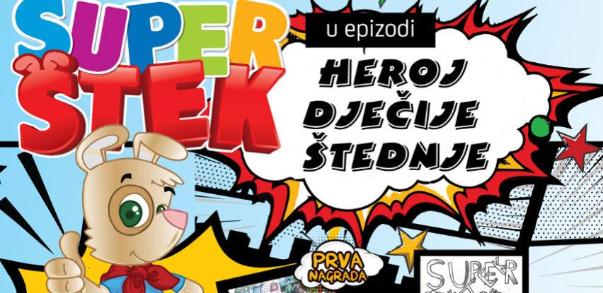Super Štek nagradio najkreativnije dječije radove na temu štednje