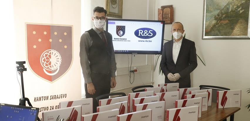 Firma R&S donirala tablete za predškolarce u Kantonu Sarajevo