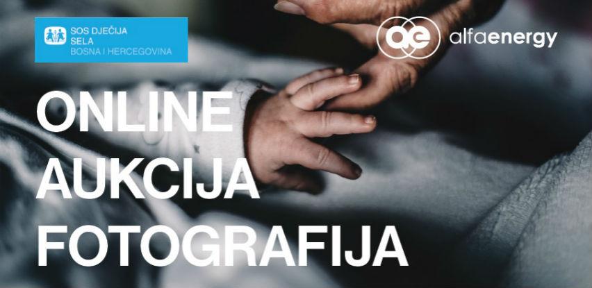Online aukcija fotografija za podršku radu SOS Dječijih sela BiH