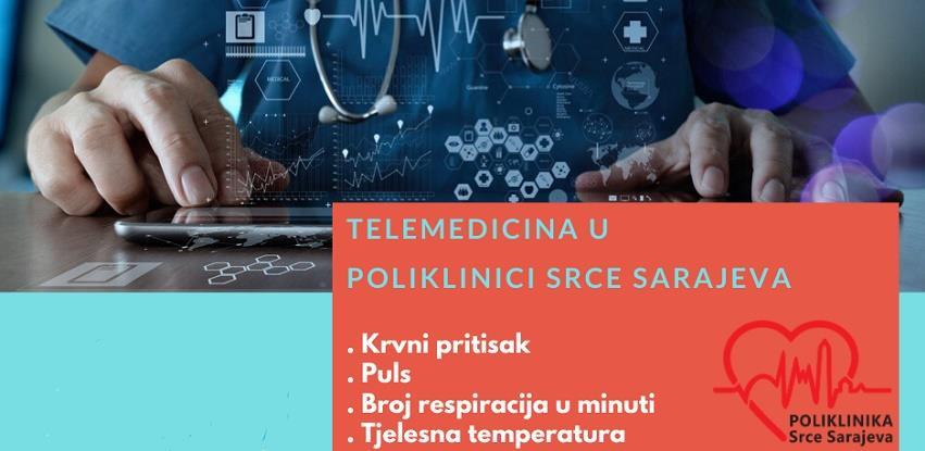 Novo u Poliklinici Srce Sarajeva TELEMEDICINA
