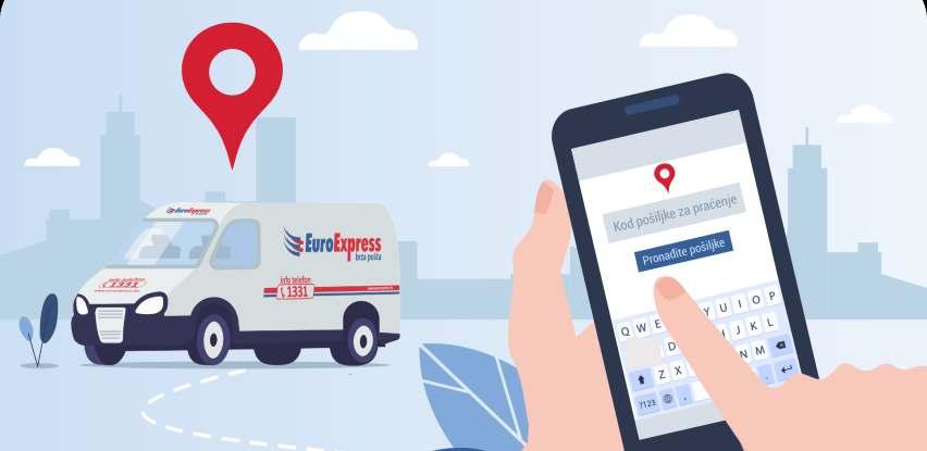Mobilna aplikacija EuroExpress brze pošte korisnicima olakšava korišćenje usluga