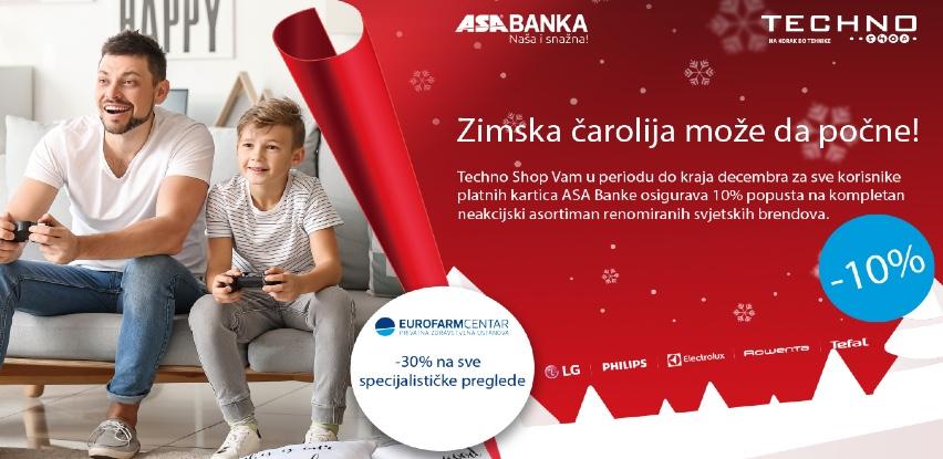 ASA Banka - Zimska čarolija može da počne