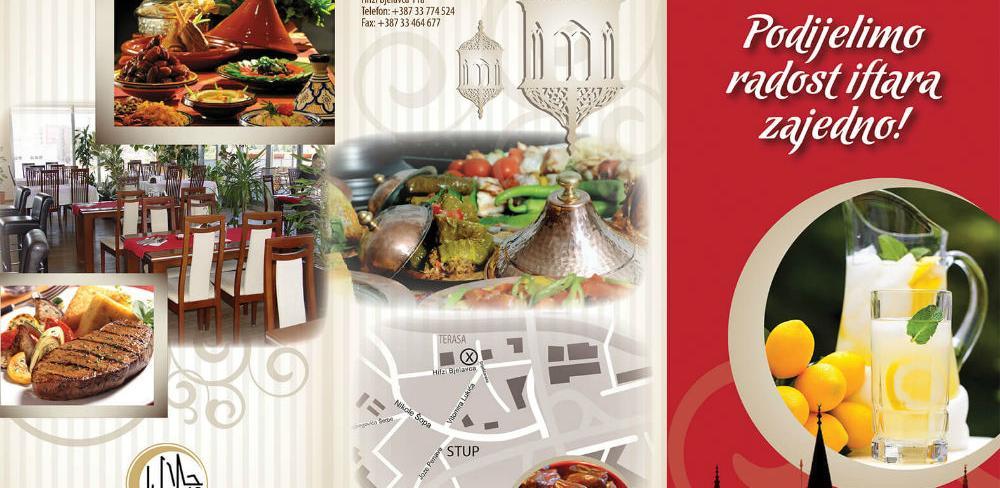 """Restoran Terasa - """"Podijelimo radost iftara zajedno"""""""