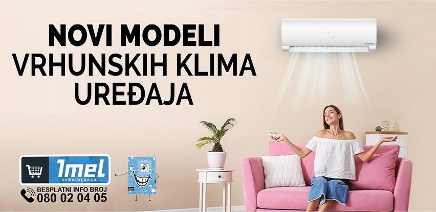 Novi modeli vrhunskih klima uređaja u Imel-u