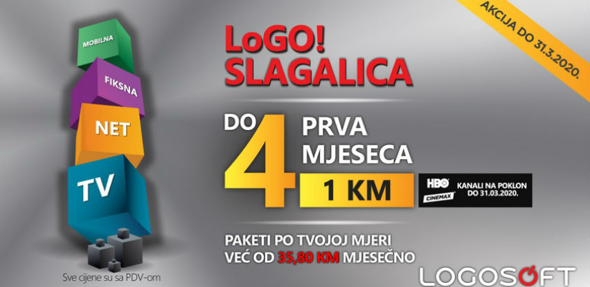 AKCIJA: LoGO! Slagalica paketi do 4 prva mjeseca po 1 KM mjesečno!