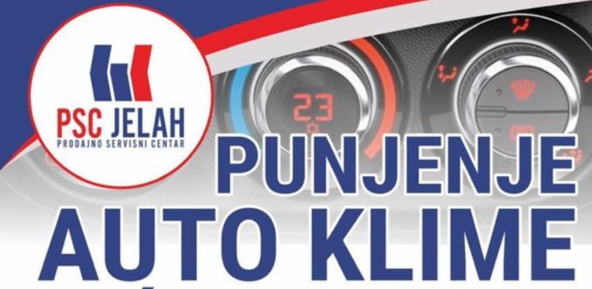 Akcija u PSC Jelah - Punjenje I servis auto klime