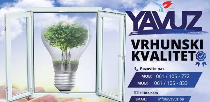 Izaberite vaš stil PVC prozora proizvedenih u Yavuz Company