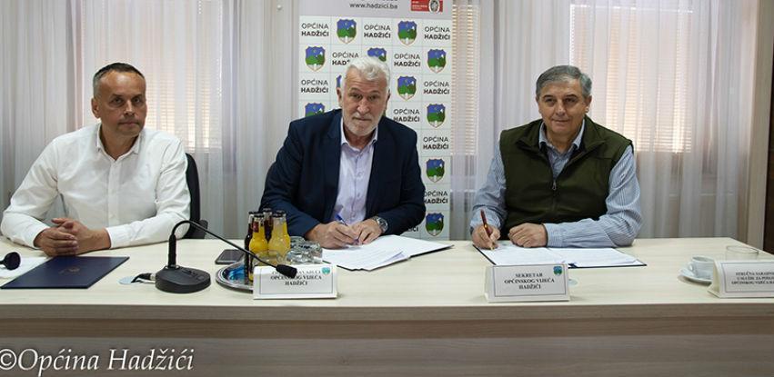 Općina Hadžići potpisala ugovor o korištenju dodijeljenih sredstava
