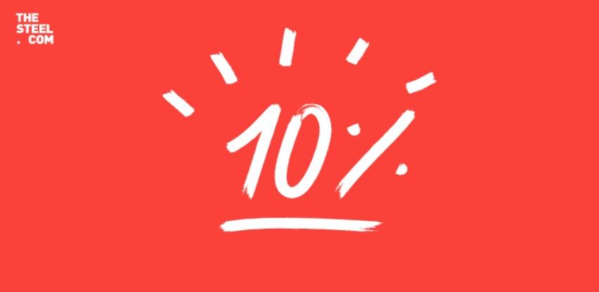 Ostvarite do 10% popusta na thesteel.com sada!