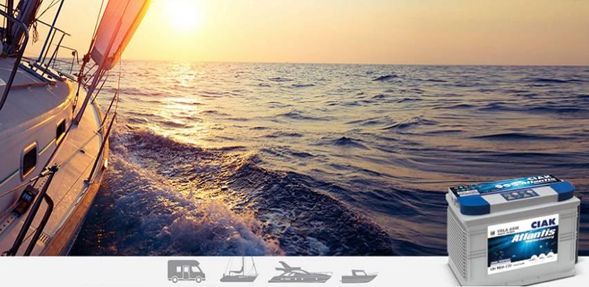 CIAK ATLANTIS  - Baterija za plovne objekte i kamp vozila