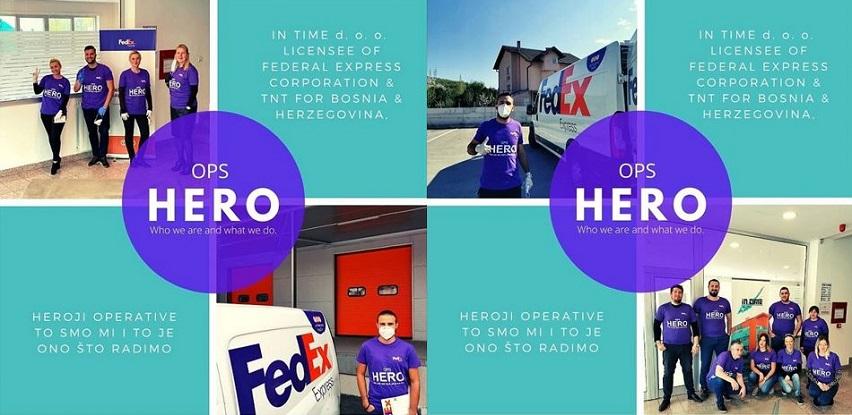 IN TIME obavlja kontinuirano dostave i preuzimanja pošiljaka (Foto)