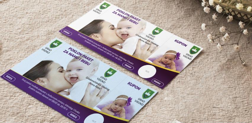 Grad Visoko nastavlja sa podjelom paketa za mame i novorođene bebe
