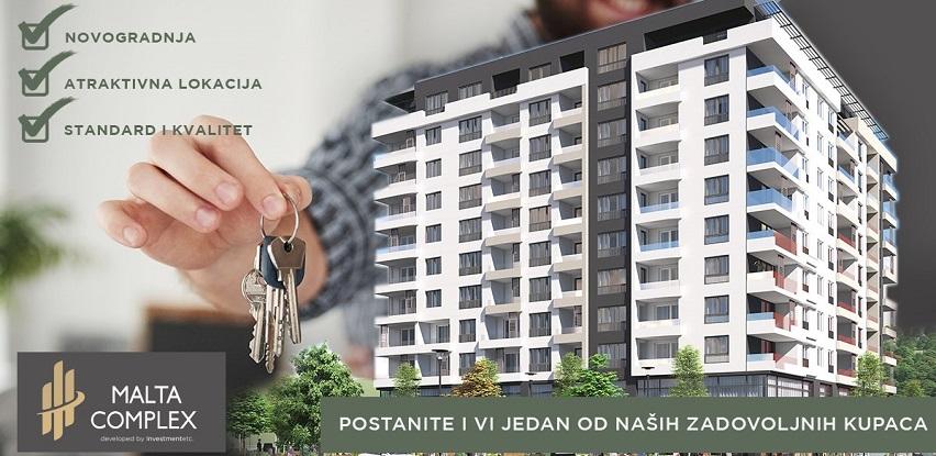 Ako ste u potrazi za stanom u novogradnji Malta Complex je pravi izbor za vas!