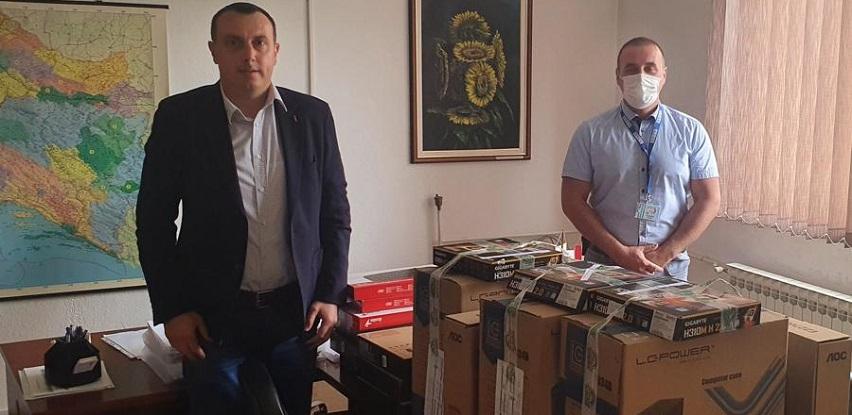 Misija OSCE u BiH donirala informatičku opremu za škole