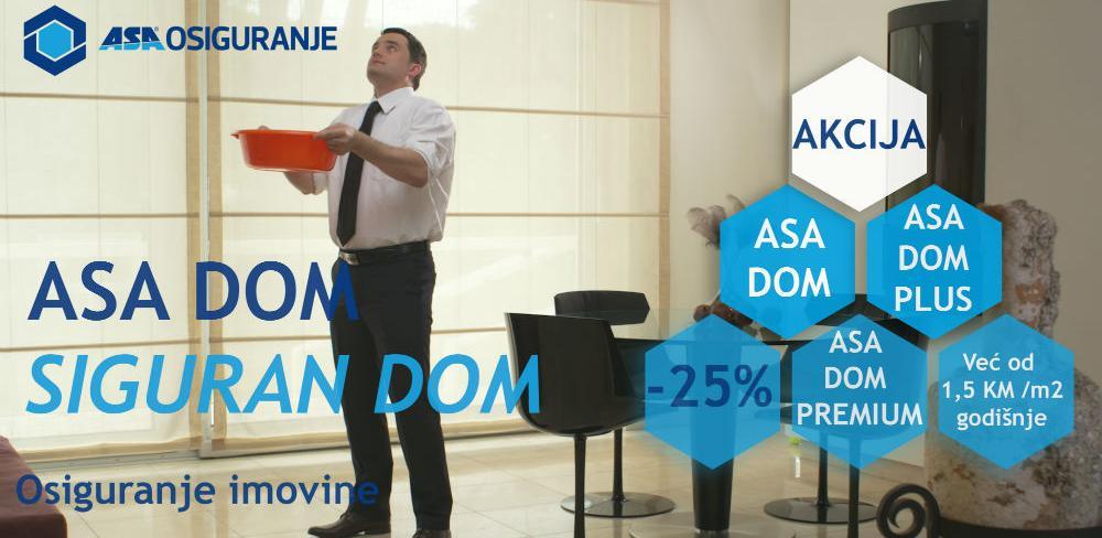 ASA dom siguran dom sada sa 25% popusta