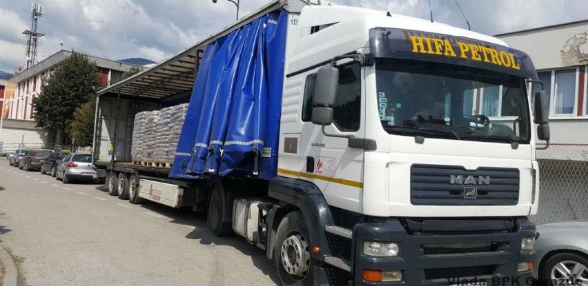 Hifa Petrol d.o.o. Sarajevo institucijama BPK donirala 20 tona peleta