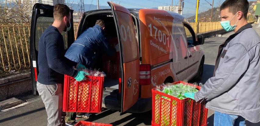 Fine Food donirao sedmičnu količinu hljebova za korisnike Udruženja Pomozi.ba