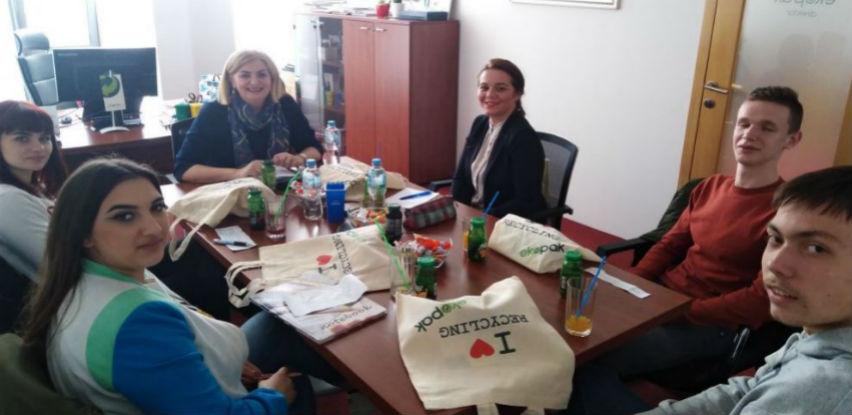 Učenici Srednje škole za okoliš i drvni dizajn iz Sarajeva posjetili Ekopak