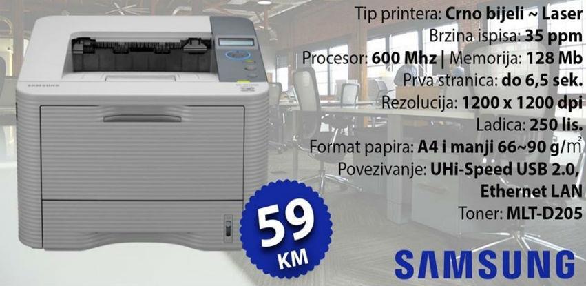 Akcija SAMSUNG ML-3710ND printera