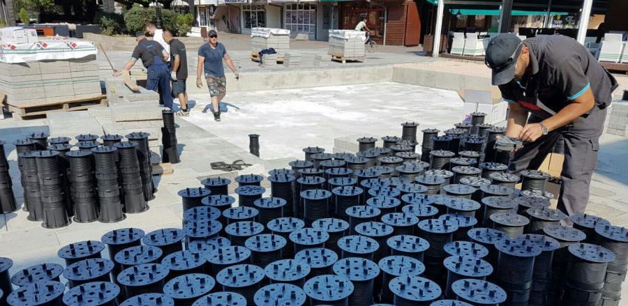 """Novo u programu Svijet fontana """"Suhe fontane"""" iz firme GRIZELJ"""