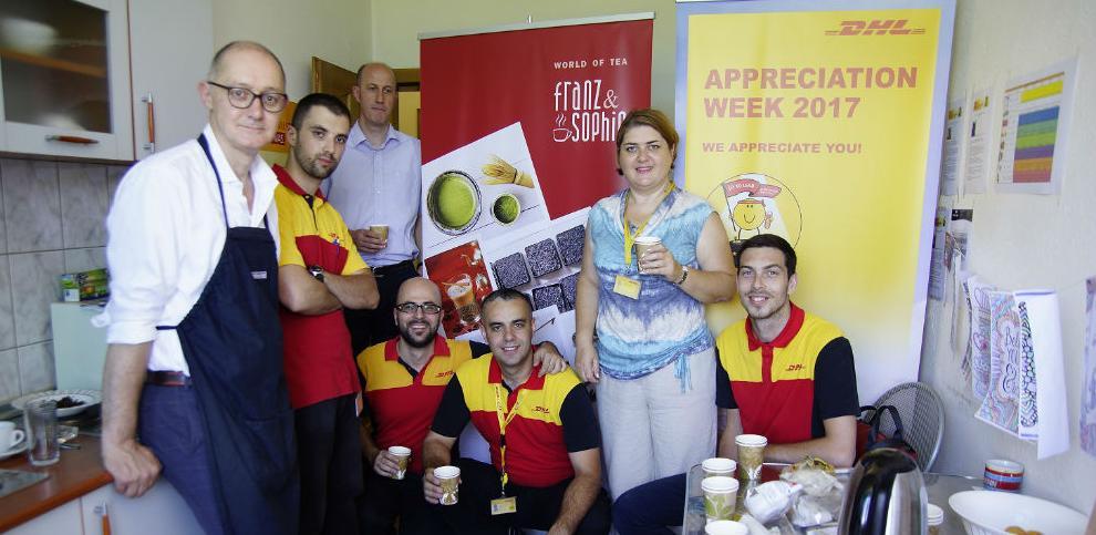 DHL i Franz & Sophie promovišu zdrave životne navike