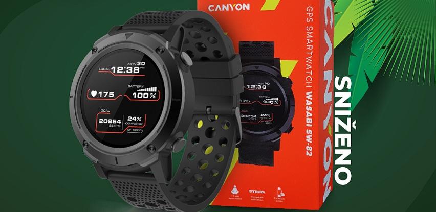 Uživaj u pokretu i ostani u formi uz Canyon Wasabi GPS Sport