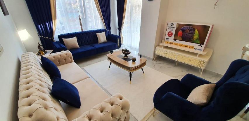 Alanya/Mahmutlar - Namješten stan ukupne površine 110 m2