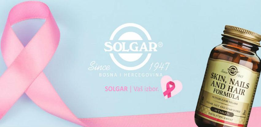 Solgar - Mjesec borbe protiv karcinoma dojke