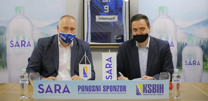 SARA je postala službena voda Košarkaškog saveza BiH