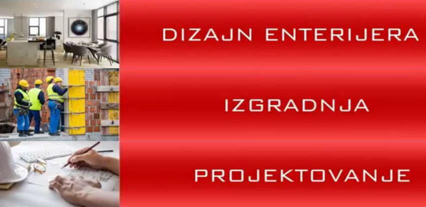 Vizija d.o.o. Sarajevo bavi se projektovanjem, izgradnjom i dizajnom enterijera