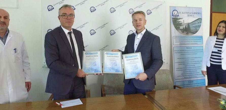 Zenički ITC darovao bolnici Zenica opremu i poslove vrijedne 164 hiljade KM