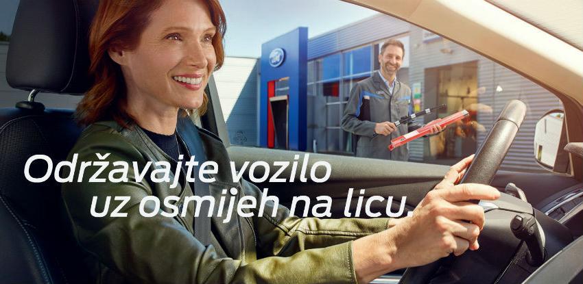 Održavajte Ford vozilo uz osmijeh na licu