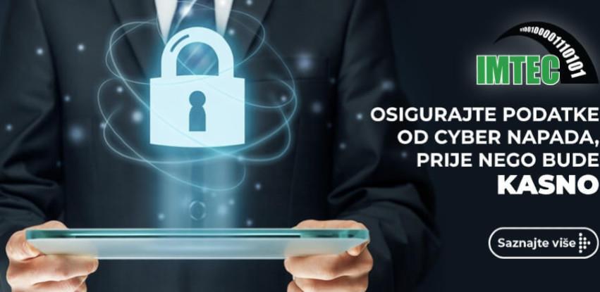 Osigurajte podatke od cyber napada