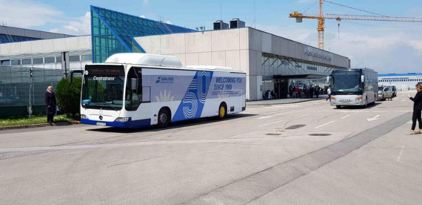 Centrotrans autobusi koji saobraćaju na liniji Aerodrom-Bentbaša imaju novo ruho
