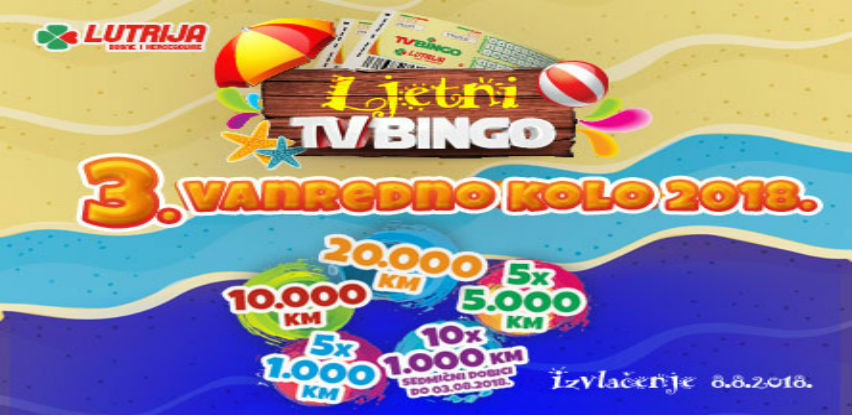 Večerašnje izdanje vanrednog TV Binga donosi brojne novčane dobitke