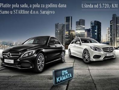 Odaberite Mercedes-Benz limuzinu: Pola cijene sada, a pola za 12 mjeseci
